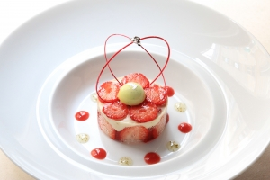 croustillant-fraises-anaïs-réglisse-menthe