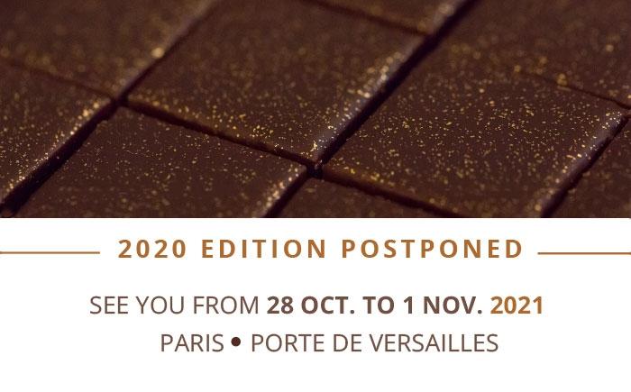 Salon Porte De Versailles Calendrier 2021 Salon du Chocolat   Paris   Du 28 octobre au 1er novembre 2021